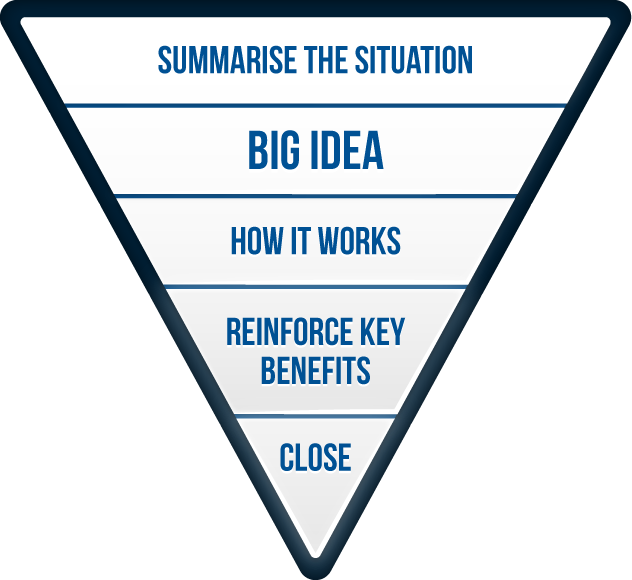 The persuasive selling process The persuasive selling process consists of five key steps.